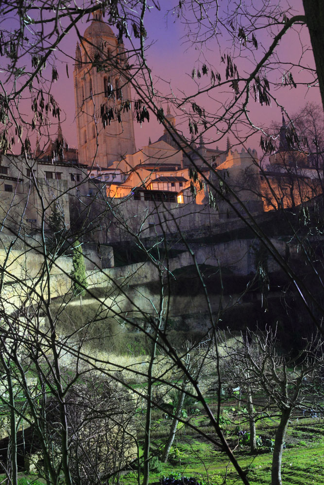 concurso fotografia segovia: Catedral desde los huertos