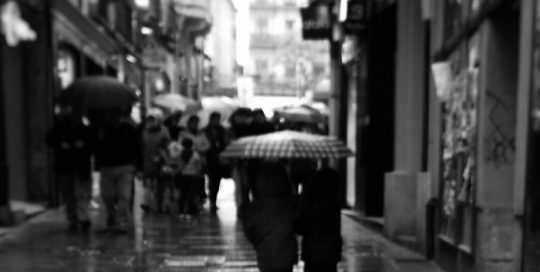 concurso fotografia segovia: Calle Real